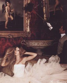 Harper's Bazaar June 2007 / model: #Gisele_Bundchen / photographer: #Karl_Lagerfeld