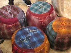 poufs by Gaye Abandon