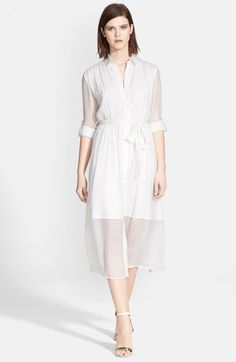 Alice+++Olivia+'Maia'+Belted+Shirtdress+available+at+#Nordstrom