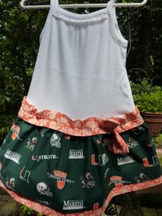 Dress for game day! Miami Hurricanes | University of Miami | #theU