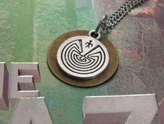 THE MAZE RUNNER Inspired Man In A Maze Necklace  by ZivaKreations, $14.00