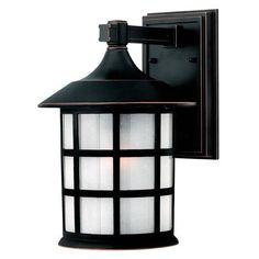 Hinkley Lighting 1804OP Freeport 100W Medium 1 Light Outdoor Wall Sconce in Olde Penny