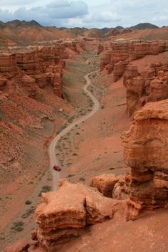 "KAZAKHSTAN! Explore ""the little brother of USA's Grand canyon"" - Charyn Canyon in  Kazakhstan! #Kazakfstan"