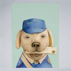 Animal Crew - The Mail Dog - Poster