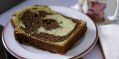 Cake marbré au chocolat I grew up eating a store-bought chocolate marble cake called Savane. Created in the sixties by … Marble Cake Recipes, Dessert Recipes, Greek Yogurt Cake, Chocolate Marble Cake, Beaux Desserts, The Joy Of Baking, Beautiful Desserts, Just Cakes, Glaze Recipe