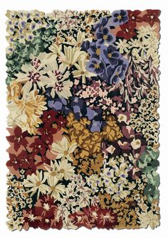 Luanda Wool Rug by Missoni Home at Gilt Missoni, Textiles, Textile Prints, Contemporary Area Rugs, Modern Rugs, Arte Latina, Tapis Design, Textile Design, Ditsy Floral