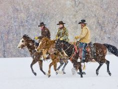 Yes, we have real cowboys in Wyoming!: