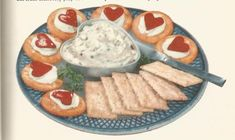 Vintage Recipes: 1964 Appetizers Cheese Spread and Deviled Eggs Cookie Frosting Recipe, Icing Recipe, Frosting Recipes, Icing Frosting, Retro Recipes, Vintage Recipes, 1950s Food, Cheese Appetizers, Cheese Spread
