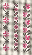 This Pin was discovered by Zey Cross Stitch Bookmarks, Mini Cross Stitch, Cross Stitch Cards, Cross Stitch Borders, Cross Stitch Flowers, Cross Stitch Designs, Cross Stitching, Cross Stitch Embroidery, Cross Stitch Patterns