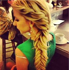 This is why I keep my hair long.  So someone can do this for me.  Need to learn myself.
