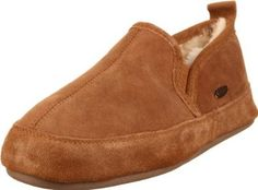 ACORN Men's Romeo II Slipper ACORN. $57.99. Weatherproof outsole with ski-resistant tread for sure footing. sheepskin. Fully lined in genuine sheepskin that naturally wicks moisture and is hypoallergenic and biodegradable. Rubber sole