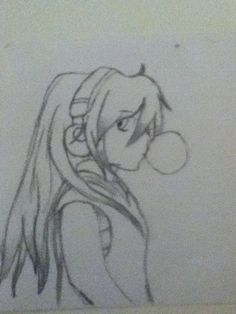 I Love this girl with her bubblegum!! Gabe made it!