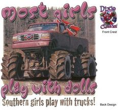 eh, I live in MN and I have always played with my jacked up trucks and 4X4's! XD