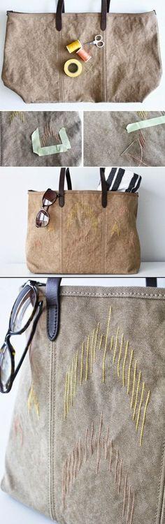 Ideas de costura - Bolsas de Verano ~ SINGER TIENDA PORTO
