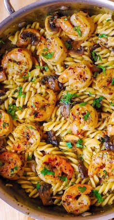 Fish Recipes, Seafood Recipes, Cooking Recipes, Shrimp Dinner Recipes, Food Recipes For Dinner, Recipies, Frozen Shrimp Recipes, Vegan Recipes, Dinner Entrees