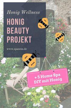 Männer Wellness Produkte mit Honig selber machen. So einfach geht's. Und das mögen auch Männer!