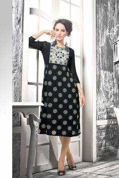 #party #kurtis @  http://zohraa.com/black-faux-georgette-kurti-z5018pvnd-vol-03-1018-16.html #partykurtis #celebrity #zohraa #onlineshop #womensfashion #womenswear #bollywood #look #diva #party #shopping #online #beautiful #beauty #glam #shoppingonline #styles #stylish #model #fashionista #women #lifestyle #fashion #original #products #saynotoreplicas
