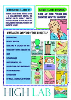 Know about Diabetes Type 1
