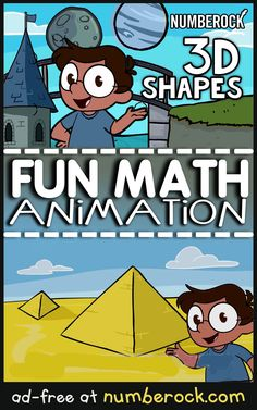 You'll be amazed at just how good a Shapes Song can be. Join us as we sing our way around the world finding real world examples of Shapes. Sing it through the Megaphone! Shape Activities Kindergarten, 3d Shapes Activities, Kindergarten Songs, Preschool Math, 3d Shapes Song, Shape Songs, Math Songs, Kids Songs, Fun Math
