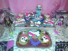 Monster high birthday party cake by my friend Marisa