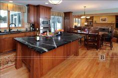 About Kitchen Island On Pinterest Craftsman Kitchen Black Kitchen