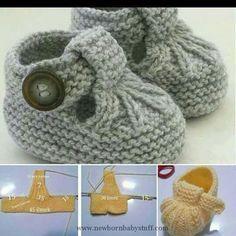 Baby Knitting Patterns Babyschuhe...