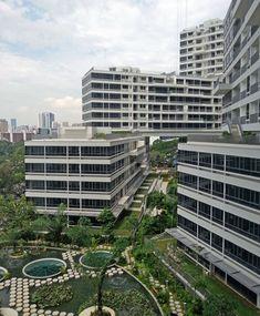 複雑にスタッキングされたように見えるユニークな構造の集合住宅『インターレース』をご紹介! | Ma cherie(マシェリ)