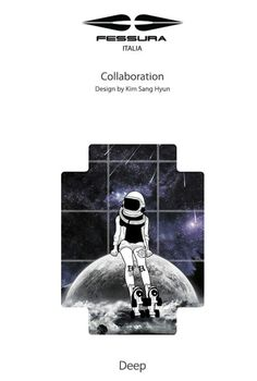 Fessura x Artist collaboration Bag pack_Deep by 김상현