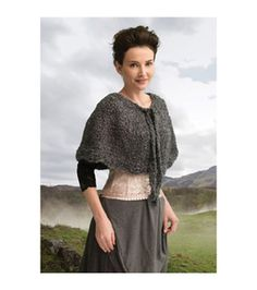Outlander Garment Knit Kit-The Gathering Spellbinding Capelet