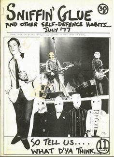 'Sniffin' Glue' PuNk fanzine, July 1977