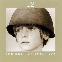 U2 Best of 1980-1990 Album Cover