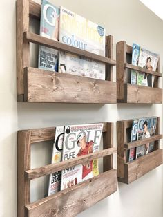 Rustic Wood Magazine Holder Magazine Storage Rack Wall Hanging Rustic Home Decor Rustic Furniture storage Newspaper Rack Office Storage Rustic Home Decor Decor Furniture Hanging holder Home Magazine Newspaper Office Rack Rustic Storage Wall Wood Painting Wooden Furniture, Rustic Furniture, Home Furniture, Furniture Storage, Antique Furniture, Modern Furniture, Outdoor Furniture, Furniture Ideas, Cheap Furniture