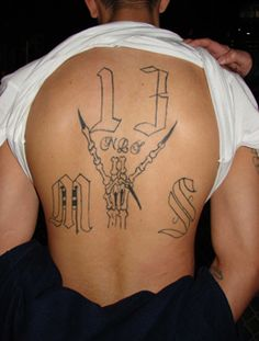 Many 16 And 17-Year-Old 'Children' Being Allowed Over The Border Are Actually Gang Members 13 Tattoos, Love Tattoos, Tatoos, Prison Tattoo Meanings, Prison Quotes, Me Too Lyrics, Gangsters, Body Modifications, Tattoos With Meaning