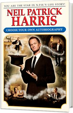 I will be reading this. I loved the choose your own adventure books and I've loved NPH since Doogie Howser.