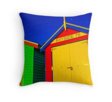 Bayside 76 - Melbourne, Victoria Throw Pillow