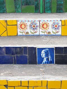 Localilo in Rio de Janeiro: Escaderia Selaron