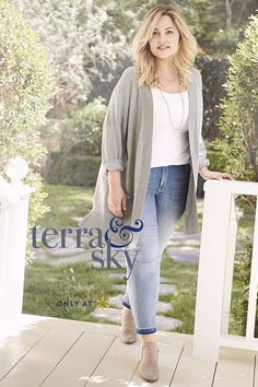 85615f22367 Look effortlessly chic with fall fashion from Terra   Sky s Exclusive Plus  Size Collection. Pair