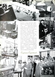 University of Detroit 1941 Tower Yearbook, Engineering Department