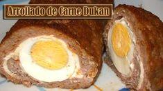 Enrollado de carne i huevo dukan - Fase ataque