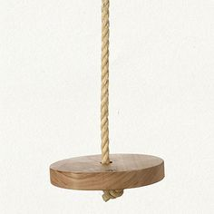 I had a swing like this as a child, but made of plastic. This is so much better.