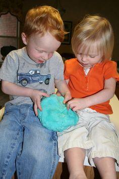 Crockpot playdough -- gotta try this!