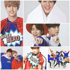 Love them all got7  made the collage myslef (proud)