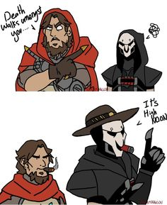 Funny XD McCree e Reaper