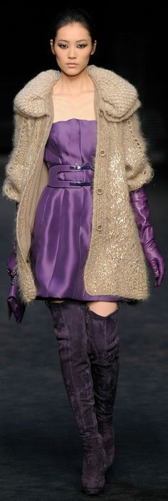 Ermanno Scervino... I like it without boots...