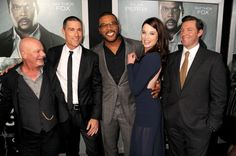Rob Cohen Matthew Fox Tyler Perry Rachel Nichols and Edward Burns arrive for the Los Angeles Premiere of 'Alex Cross' at ArcLight Cinemas Cinerama...