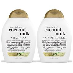 OGX Nourishing Coconut Milk Shampoo  Conditioner 13 Ounce ** For more information, visit image link.Note:It is affiliate link to Amazon.