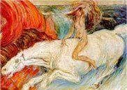 Carlo Carra, nació en Quargnento, Italia, en 1881. Además de ser pintor, escribió muchos libros relacionados con el arte.