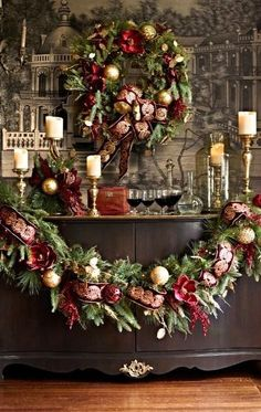 Below are the Traditional Christmas Decorations Ideas. This post about Traditional Christmas Decorations Ideas was posted under the Decoration category by our team at July 2019 at pm. Hope you enjoy it and don't forget to share this . Diy Christmas Balls, Christmas Mantels, Noel Christmas, Rustic Christmas, All Things Christmas, Christmas Wreaths, Christmas Movies, White Christmas, Christmas Island
