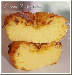 DSC03329 Portuguese Desserts, Portuguese Recipes, Portuguese Food, Sweet Recipes, Cake Recipes, Dessert Recipes, Food Shows, Cupcakes, Mini Desserts