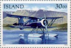 Stamp Day: Postal aircraft - Waco YKS-7